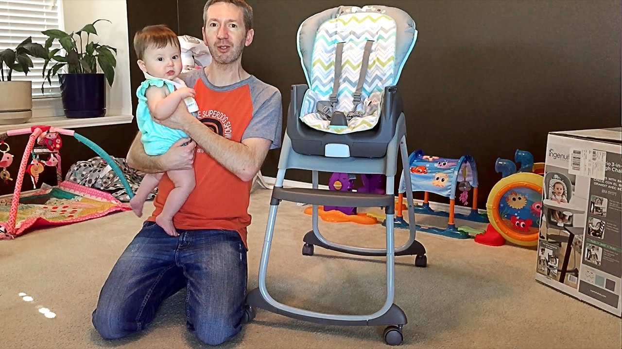 Ingenuity Trio 3 In 1 High Chair Assembly A Multi Use Highchair