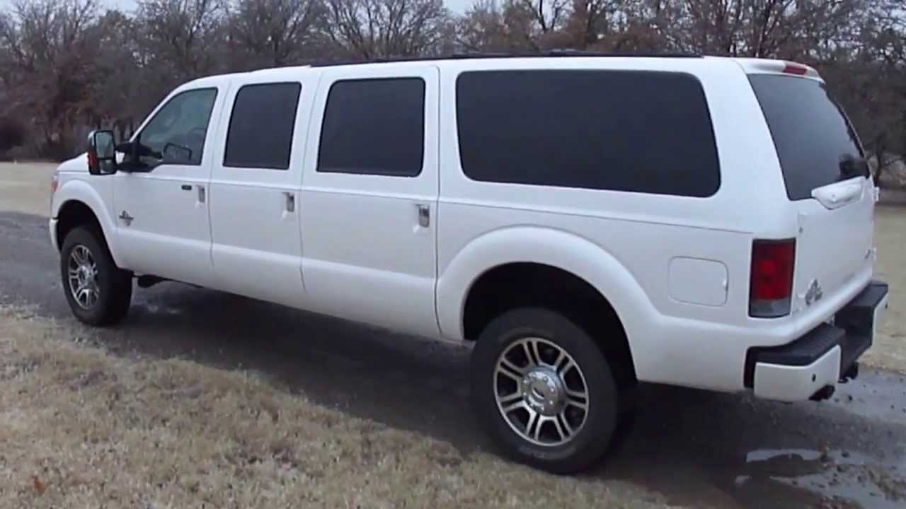 2013 platinum ford excursion six door 88903