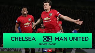 Chelsea 0-2 Manchester United - VAR Disallows 2 Chelsea Goals