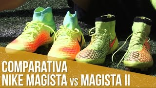 Comparativa Nike: Magista vs. Magista II
