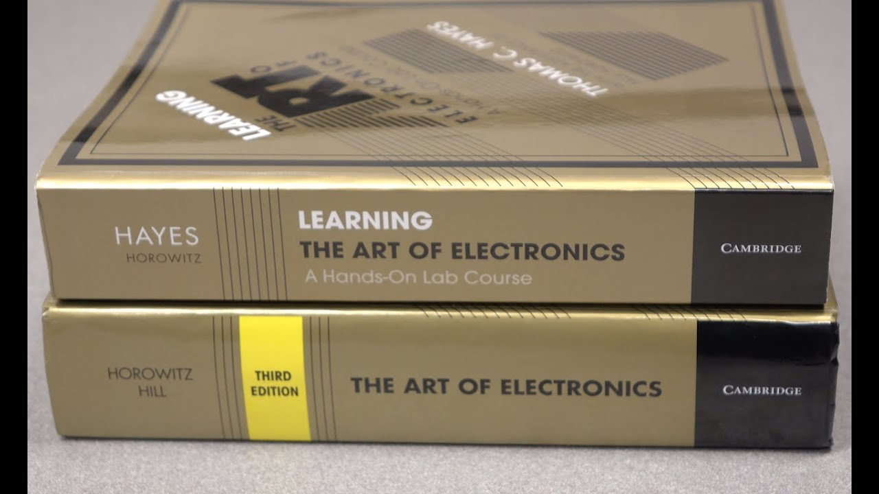 Learning The Art Of Electronics A Hands On Lab Course Youtube