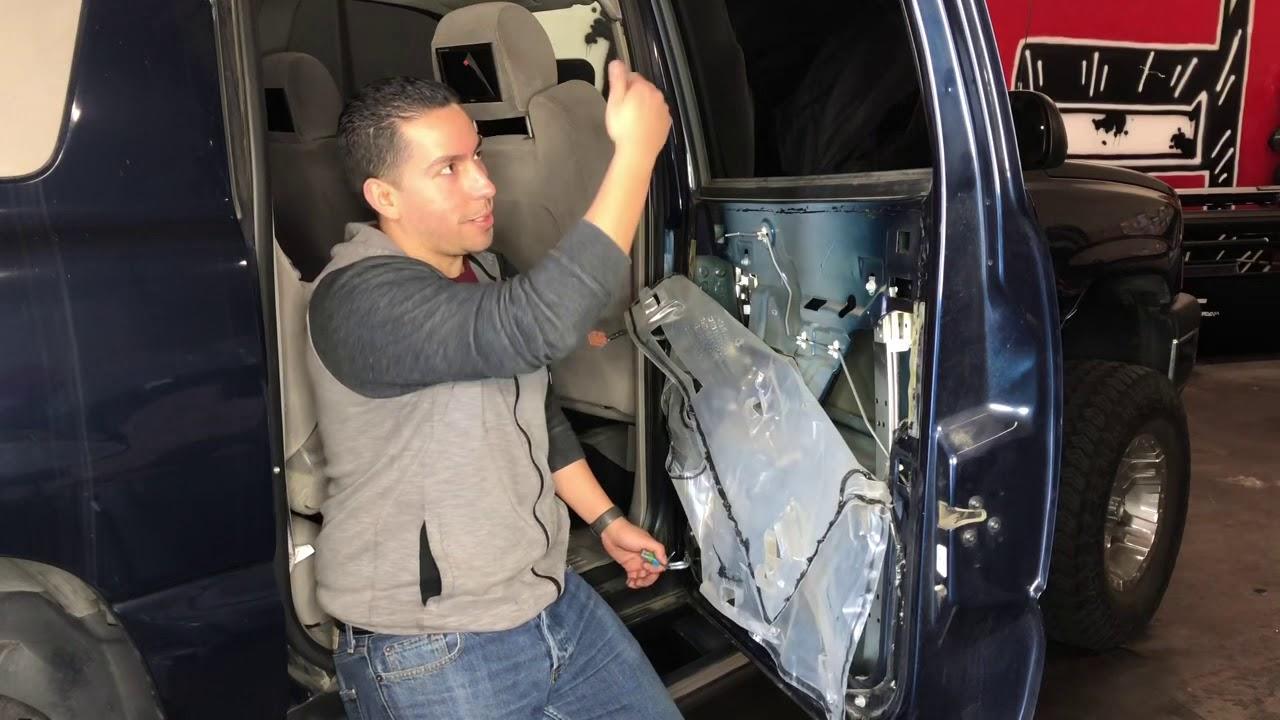 A-Premium Power Window Regulator without Motor for Chevrolet Suburban 1500 2500 2000-2006 Silverado GMC Sierra Cadillac Escalade EXT Rear Right Passenger Side