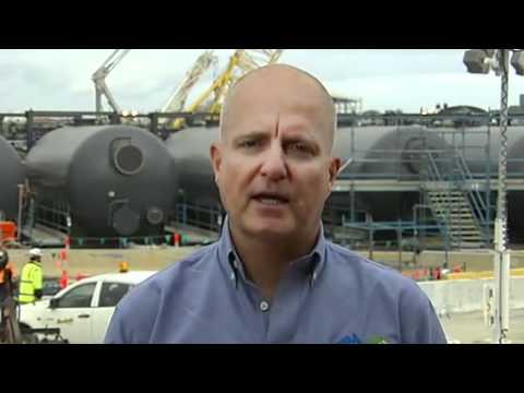 Desalination project under pressure