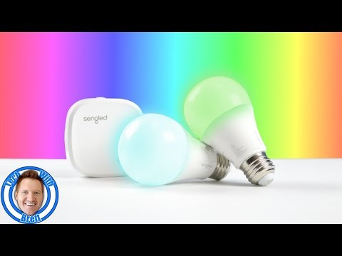 Sengled Element Color Plus Review & Colored Light Comparison