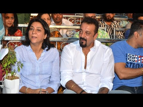 Sanjay Dutt With Sister Priya At Charity Event In Bandra