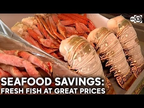 Family-owned Seafood Market Sells Fresh Fish At Great Prices