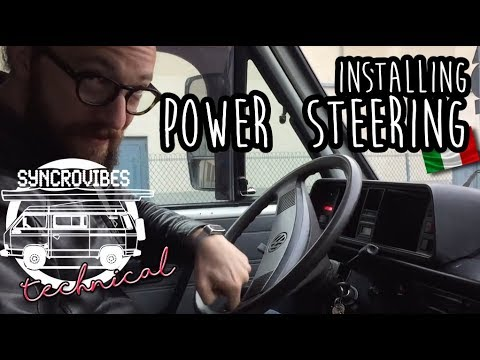 VW T3 - Electric Power Steering (EASYSTEER) Install [syncrovibes technical]
