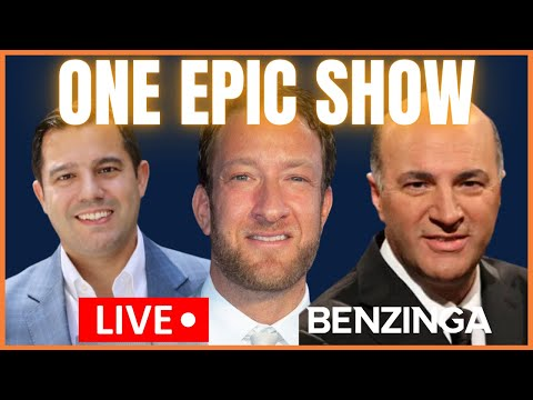 Benzinga MEGA STREAM with Dave Portnoy, WeBull CEO, Kevin O'Leary and more! $GME $PENN $BB $