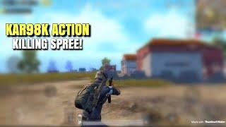KAR98K Massacre | PUBG Mobile | Silent Sniper Action!