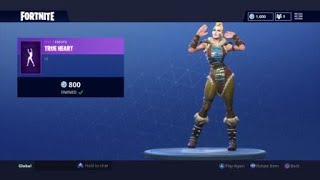 Fortnite Season 5 Huntress Skin with True Heart Emote