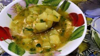 Гороховый суп с курицей Вы обязательно должны попробовать этот рецепт