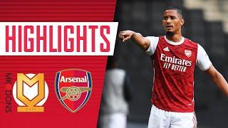 HIGHLIGHTS | MK Dons vs Arsenal | Elneny, Nketiah, McGuinness, Nelson (1-4)