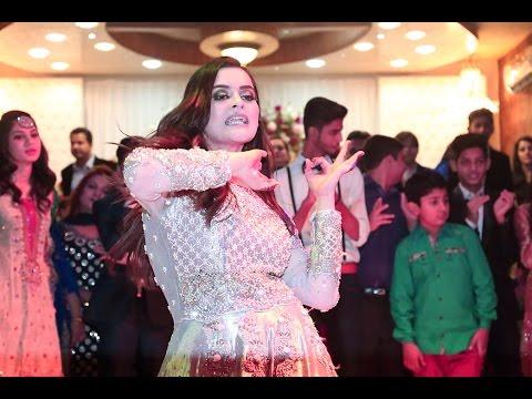 Download Minal Khan Dance Performance on Aiman Khan Engagement