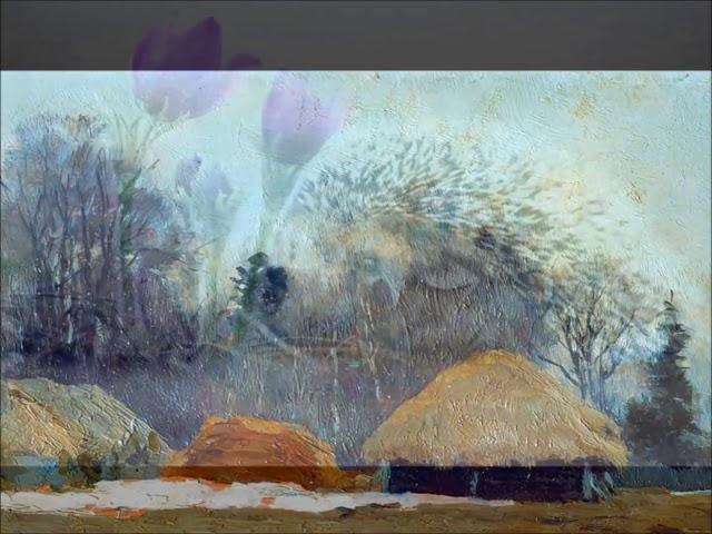 Изображение предпросмотра прочтения – НатальяКомаровецкая читает произведение «Бушует полая вода» И.А.Бунина