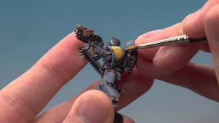 Space Wolves - Painting a Grey Hunter.