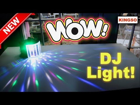 😍  KINGSO    ❤️   DJ  Light - Review  (New) 2017  ✅