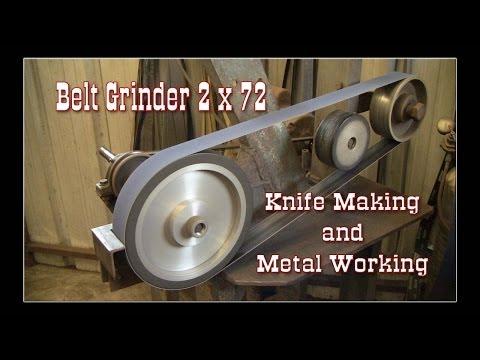 Metal Working: Homemade belt sander and grinder