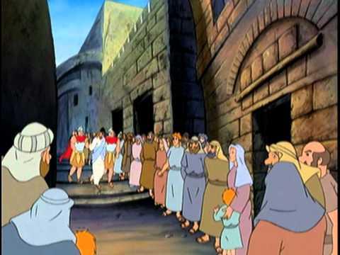 Распятие иисуса христа для детей мультфильм