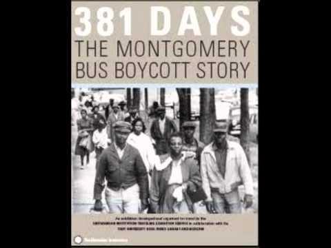 Rosa Parks Montgomery Bus Boycott