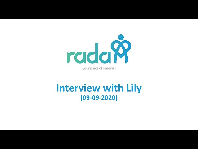 Interview with Lily 9 Sep 2020