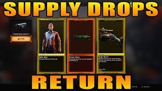 Black Ops 4: Supply Drops Return…