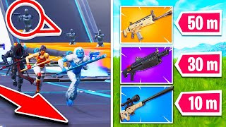ON THE COURSE TO BOTS TROP COOL on FORTNITE !!!