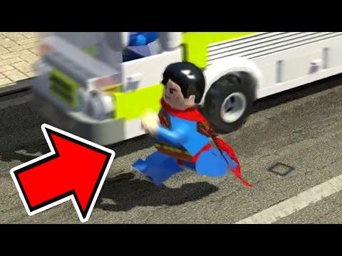 LEGO Marvel Super Heroes EXTRAS #43 - SUPERMAN OU ÔNIBUS? QUEM CORRE MAIS?