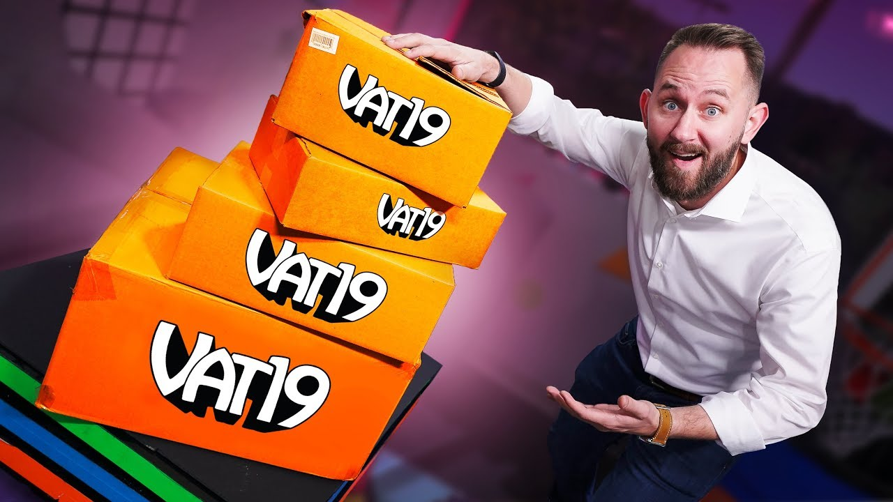 Buying & Trying Every Vat19 Mystery Box! image