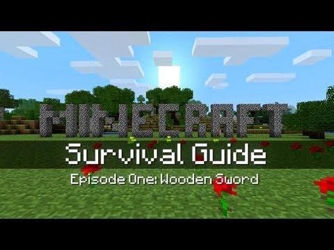 minecraft survival guide episode 1 wooden sword youtube rh youtube com minecraft survival guide pdf minecraft survival guide advanced