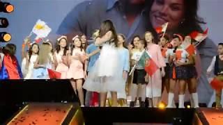 Polina Bogusevich winning Junior Eurovision 2017