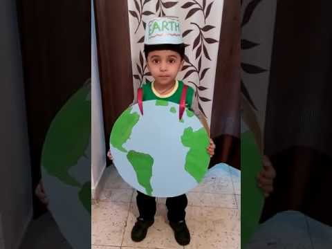 Earth - Fancy Dress Competition. Theme : Nature