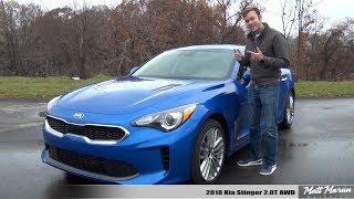 Review: 2018 Kia Stinger 2.0T AWD - A Better WRX?