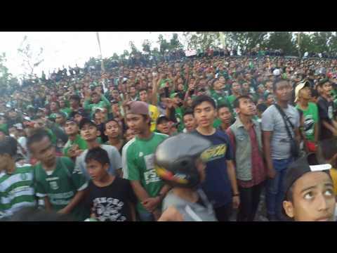Aksi Psms Fans Club Di Elclasico Indonesia Psms Vs Persib 26-03-2017