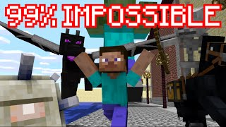 NEW DIFFICULTY ADDED : 99% IMPOSSIBLE - Minecraft thumbnail
