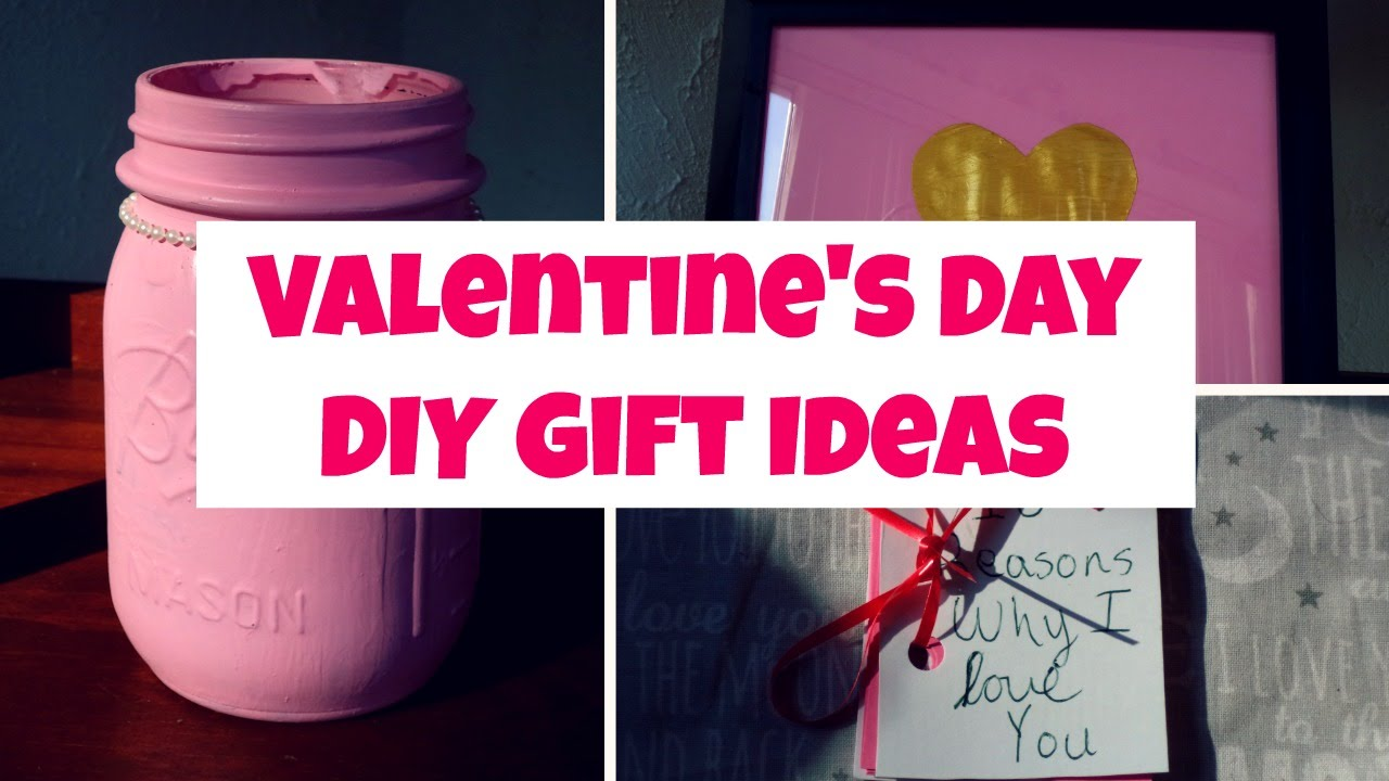 Valentine S Day Diy Gift Ideas Diy Valentines Day Mason Jar Diy