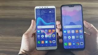 Huawei Y9 2019 vs Y9 2018