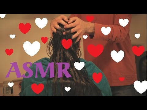 ASMR Indian Heavy Hair Oiling | No Talking Version | Scalp Massage