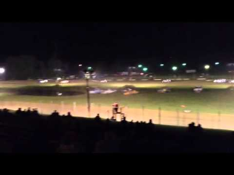 Paragon Speedway Super Stock Feature 7/4/15