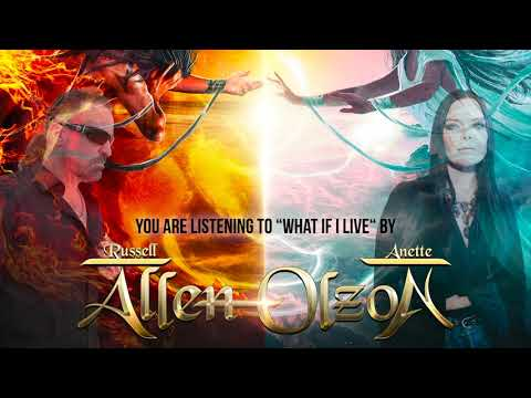 """Allen/Olzon - """"What If I Live"""" (Official Audio)"""