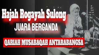 Download 01 Hajah Rogayah Sulong - Qariah Antarabangsa MALAYSIA - Surah Yassin (Ayat 1-83)