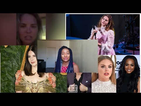 Lana Del Rey and Hannah Brown: STOP USING RACISM FOR ATTENTION
