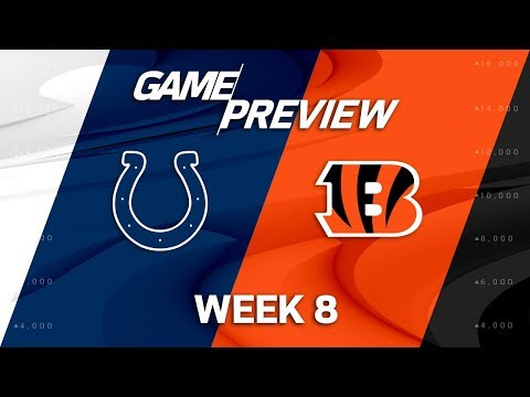Indianapolis Colts vs. Cincinnati Bengals | Week 8 Game Preview | NFL Playbook