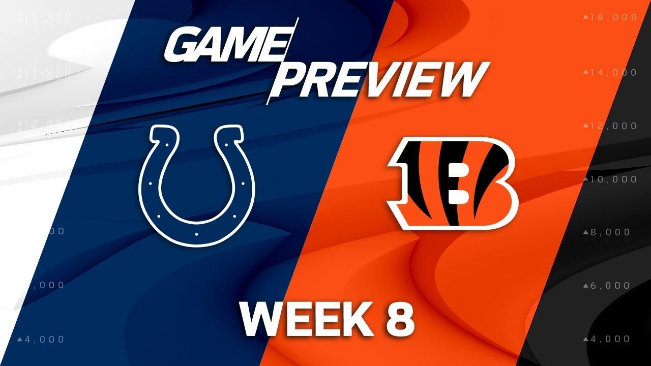 Indianapolis Colts vs. Cincinnati Bengals | Week 8 Game ...