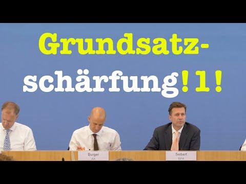 26. Juni 2019 - Bemerkenswerte Bundespressekonferenz | RegPK