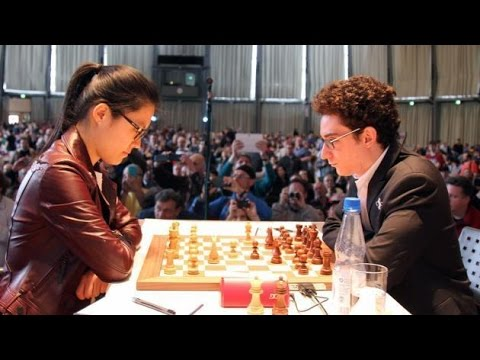 Hou Yifan Crucifies Caruana's Unbeatable Berlin Defence in Round 1 of Grenke Chess Classic 2017