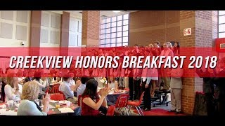 Creekview Honors Breakfast | Congrats to Our Senior Graduates