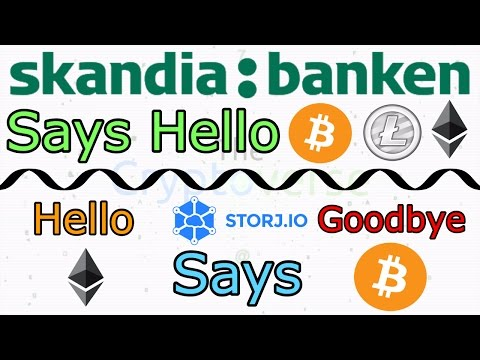Storj Says Goodbye To Bitcoin, While Norwegian Bank Integrates With Coinbase! (The Cryptoverse #272)