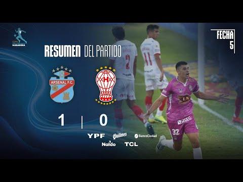 Арсенал Саранди  1-0  Уракан видео