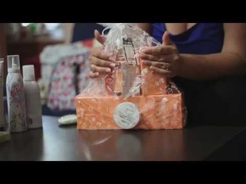 ASMR Bachelorette Party Gifts | Unboxing, Crinkle Bag, Tapping