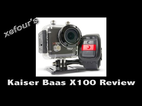 Kaiser Baas X100 + WiFi Action Camera Review (GoPro Clone)